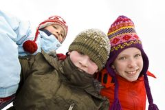 На снежке Стоковое Изображение RF