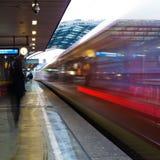 На станции Стоковые Изображения RF