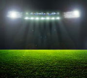 На стадионе. Стоковое Фото