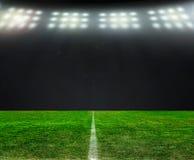 На стадионе Стоковое Фото