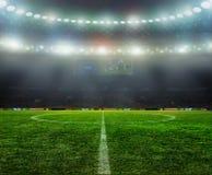 На стадионе Стоковые Фотографии RF