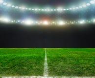 На стадионе Стоковая Фотография
