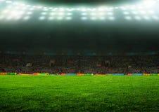 На стадионе Стоковая Фотография RF