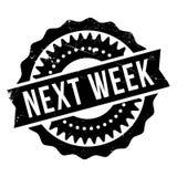 На следующей неделе штемпель Стоковая Фотография RF
