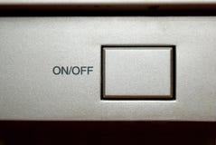На с кнопке Стоковое Изображение RF