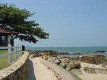 На теплом пляже Таиланда Стоковые Фотографии RF
