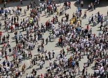 над толпой Стоковая Фотография RF