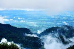 над туманом Стоковое Изображение RF