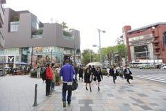 на улице Omotesando на 2016 Стоковые Изображения RF