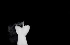 Надутая вне свеча Стоковое фото RF