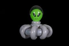 Надутый чужеземец воздушного шара в космическом корабле Стоковая Фотография RF
