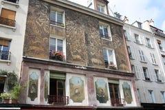 На улицах Париж стоковые фото