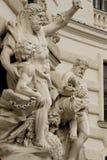 на фасаде имперского дворца Стоковая Фотография