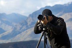 На фотографе положения стоковое фото rf