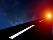 На хайвее в небе 8 Стоковое Изображение RF