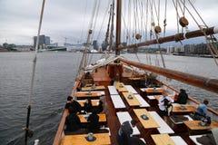 На-хмель хмеля с прогулки на яхте Стоковые Изображения