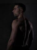 Над человеком 40 с большим телом Стоковое Фото