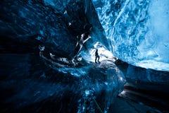 На льде Стоковые Фотографии RF