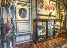 На экспозиции замка стоковая фотография rf