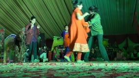 На этапе индийского театра сток-видео