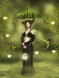 На Fairy болоте иллюстрация штока