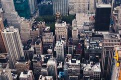 над New York Стоковые Фотографии RF