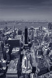 над New York Стоковые Фото
