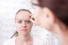На Optician стоковая фотография rf
