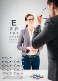 На Optician Стоковые Фото