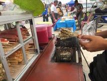 На pasar рынке tani или утра Стоковая Фотография