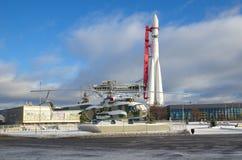 ` На VDNKH, Москва Востока ` Ракеты, Россия Стоковые Изображения RF