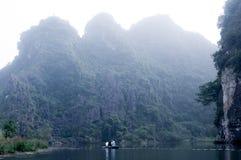 На vietnamnese Red River Стоковая Фотография