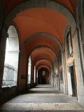 Неаполь - крылечко входа королевского дворца стоковые изображения rf