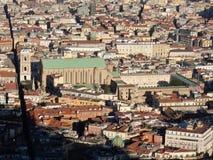 Неаполь - монастырь Santa Chiara da Сан Martino стоковые изображения