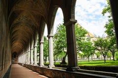 НЕАПОЛЬ - di Santa Chiara Chiostro (комплекс музея Santa Chiara) Стоковое Изображение RF