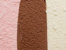 Неаполитанское мороженое Стоковые Фото