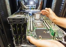 Небезупречный сервер лезвия стоковые изображения