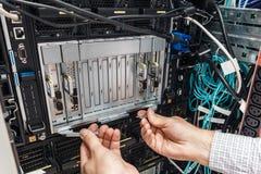 Небезупречный сервер лезвия стоковая фотография