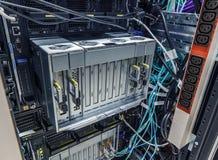 Небезупречный сервер лезвия стоковое фото