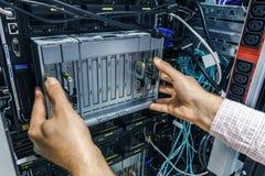 Небезупречный сервер лезвия стоковые фотографии rf