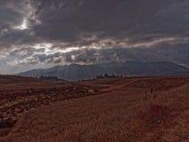 небеса бурные Стоковая Фотография RF