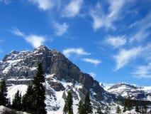 небеса горы стоковая фотография rf