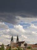 небеса драмы Стоковая Фотография RF