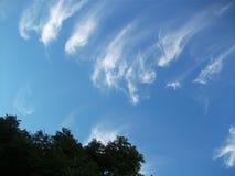 Небеса и облака Стоковые Фотографии RF