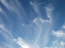 Небеса и облака Стоковые Изображения RF