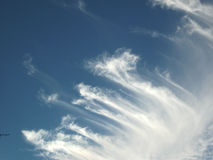 Небеса и облака Стоковое Изображение RF