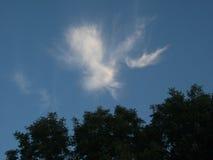 Небеса и облака Стоковое Изображение