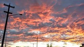 Небеса конфеты хлопка стоковые фото
