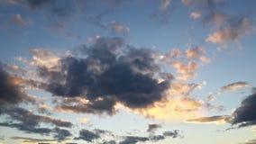 Небеса на огне Стоковые Фото