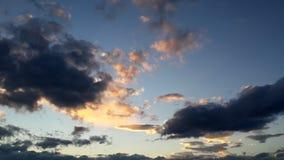 Небеса на огне Стоковые Фотографии RF